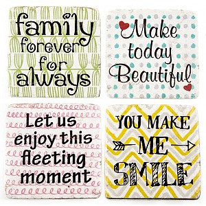 Coasters Family Beautiful Moment Smile