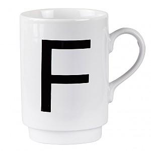 Letter Mug F