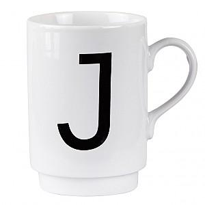 Letter Mug J