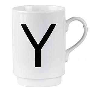 Letter Mug Y