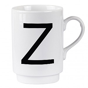 Letter Mug Z