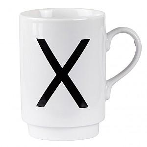 Letter Mug X
