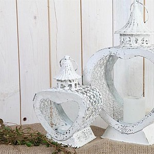 Candle Holder Heart Small