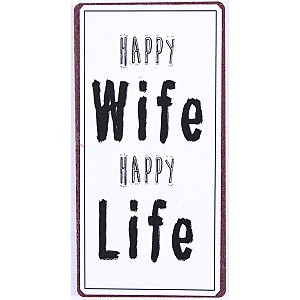 Magnet Happy wife happy life
