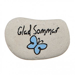 Stone Glad Sommar Butterfly
