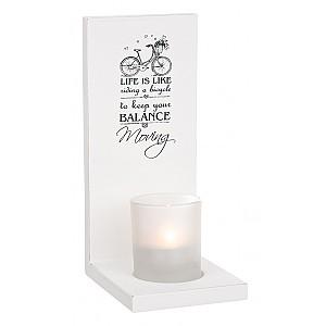 Ljuslykta för vägg Bicycle