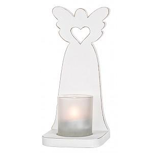 Ljuslykta för vägg Ängel