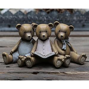 Nallebjörnar som läser
