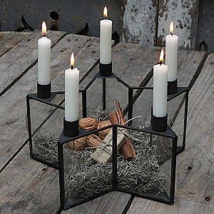 Candlestick Star for 5 candles