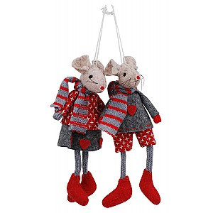 Hanging Christmas Mouse