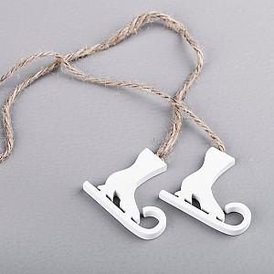 Skates on a string