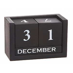 Kalender i trä