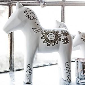 Majas Chevas dekor Häst