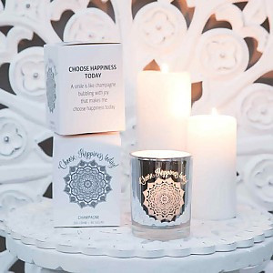 Majas Scented Candle Choose Happiness today