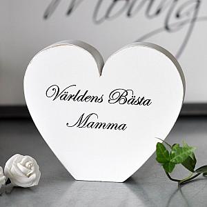 Hjärta Världens bästa Mamma