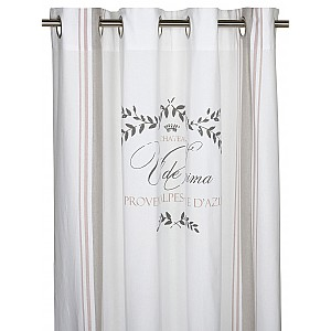 Grommet Top Curtains Provence