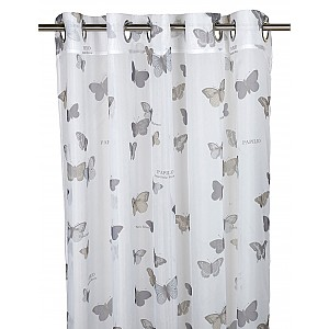 Grommet Top Curtains Butterfly