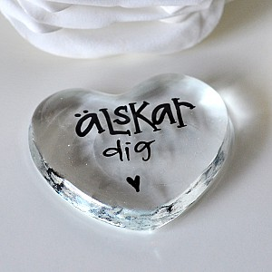 Glass Heart Älskar dig