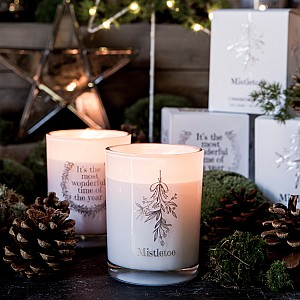 Majas Scented Candle Mistletoe