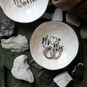 Majas Mini Bowl Mr & Mrs