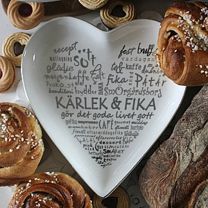 Majas Hjärtfat Kärlek & Fika