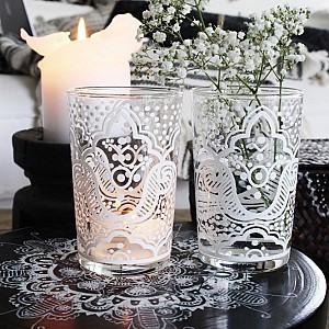 Majas Tealight Holder / Glass Skovbon