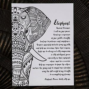Majas Print Elephant