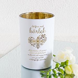 Majas Candle Holder Kärlek