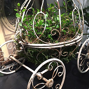Blomstervagn Cinderella