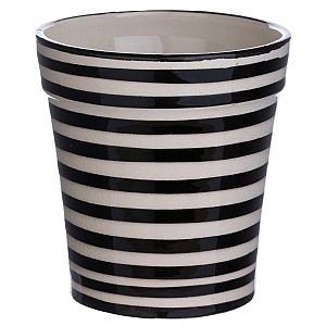 Moroccan Pot Striped Small