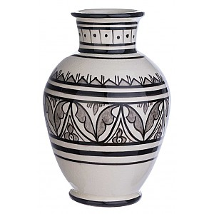 Moroccan Vase / Urn Tetouan Medium
