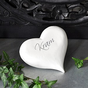 Heart with text Kram