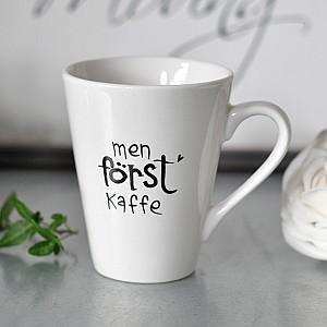 Mug Men först kaffe