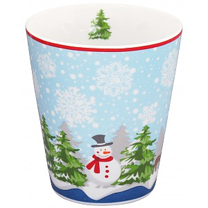 Happy Mug Christmas Snögubbe