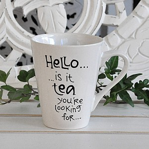 Mugg Hello is it tea you're looking for