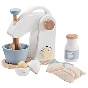 Kids Concept Mixer Set - White / Blue