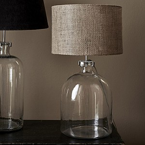 Glass Lamp Base / Lamp Stand - 39 cm