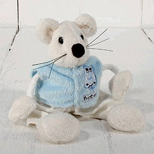 Mus Baby Mini - Ljusblå