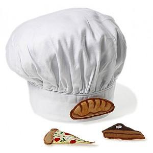 Chef's Hat with three motifs
