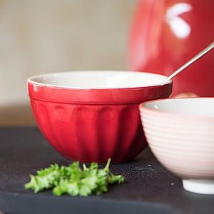 Muesli bowl Mynte - Strawberry - Red