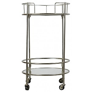 Serving Cart / Trolley Penthouse - Silver