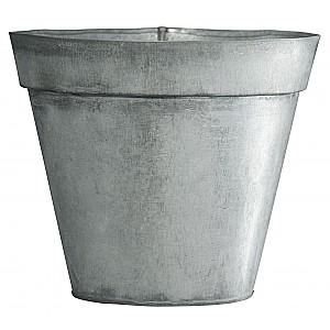 Metal Pot - Zinc - 13.5 cm