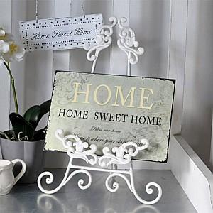 Tin Sign Home