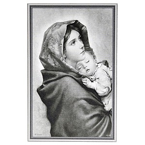 Card Mother and child