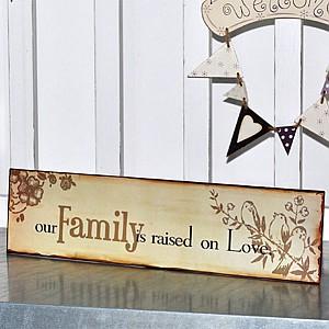 Tin Sign Family