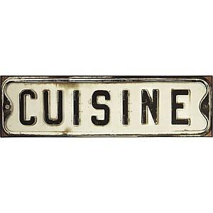 Tin Sign Cuisine