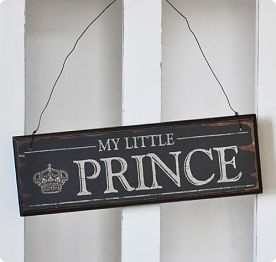 Wooden Sign Prince