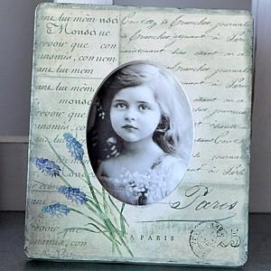 Fotoram Lavendel