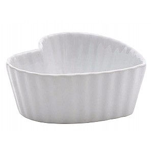 Baking dish / Dessert bowl Heart White - Small
