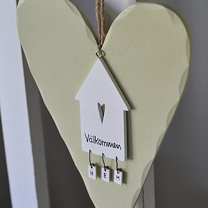 Wooden Heart + House